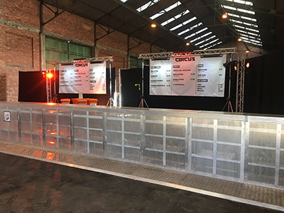 Bar barriers or Bar Counters