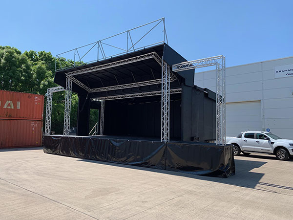 ES40 Stage for hire