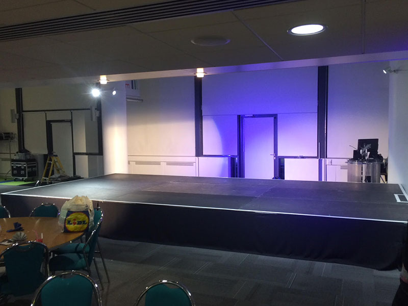 Evolution stage hire can provide you with the stage that you require for your exact needs.